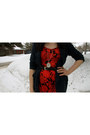 Ruby-red-urban-outfitters-dress-white-h-m-tights-navy-f21-cardigan