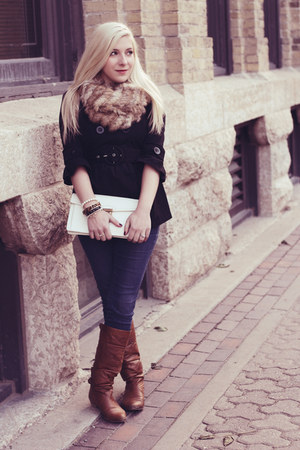 gold bow kate spade ring - camel almond toe Steve Madden boots