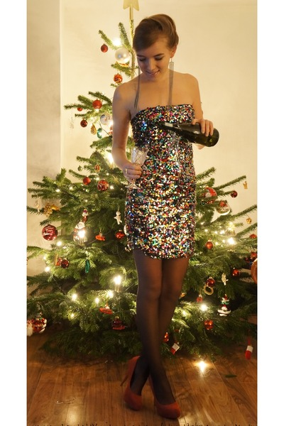 sequin Vila dress