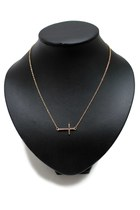 Gold-cross-unbranded-necklace