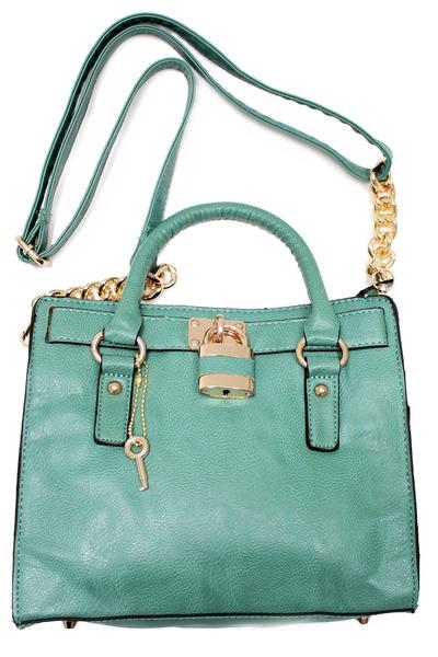 aquamarine tote unbranded bag