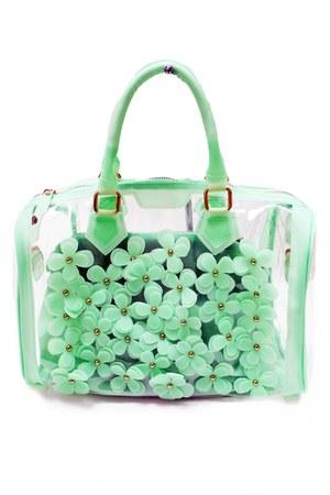 jelly flower unbranded bag