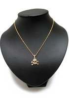 Gold-skull-unbranded-necklace