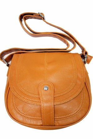 tawny brown satchel unbranded bag