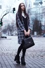 Charcoal-gray-topshop-cardigan