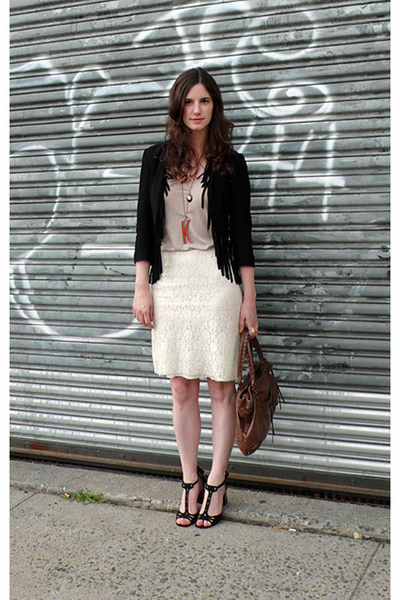 gryphon jacket - Urban Outfitters shirt - no tag- vintage skirt - Marc by Marc J
