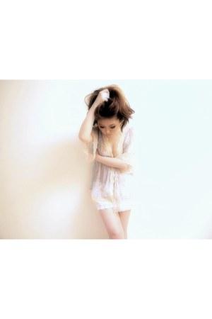 crochet shorts H&M shorts - soareak blouse