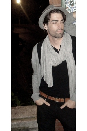 hat - scarf - sweater