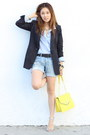 Black-black-blazer-zara-blazer-yellow-olivia-and-joy-bag