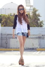 Sky-blue-grace-in-la-shorts-white-publik-top
