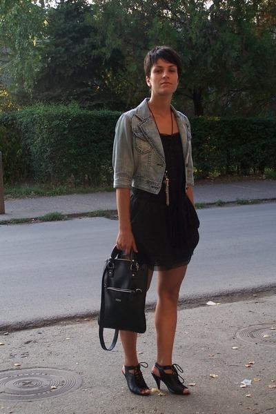 Fox jacket - Mango blouse - Segue purse - Mango shoes