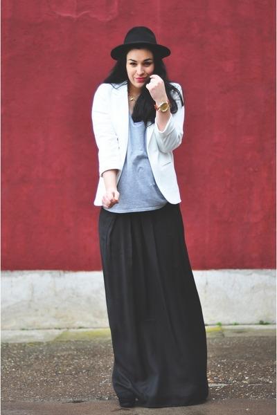 white Sheinside blazer