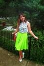 Vintage-blouse-denise-diandra-skirt