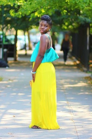 Brigette Clarice blouse - ann taylor skirt