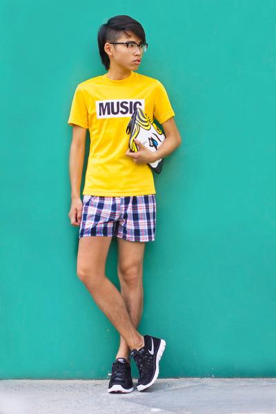 yellow Acne Studios t-shirt