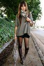 Silver-cotton-on-sweater-black-uo-shorts-silver-zara-bra-all-saints-bag