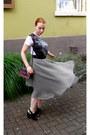 White-new-yorker-shirt-maroon-vintage-bag-black-h-m-sandals-puce-h-m-skirt