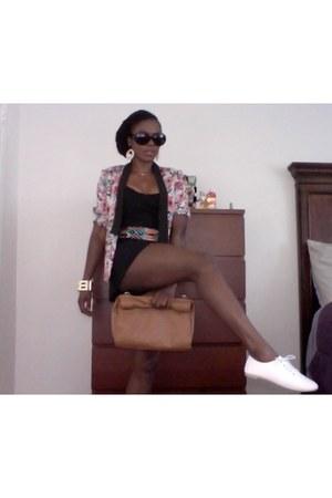 DressLink blazer - Zara bag - DressLink loafers - Zara romper