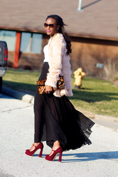 Miu Miu pumps - asos jacket - Antonio Melani bag - asos skirt