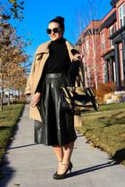 Nordstrom skirt - Bebe coat - Mango shirt - PROENZA SCHOULER bag