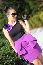 asos skirt - Marc Jacobs bag - Christian Louboutin pumps