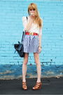 Cynthia-vincent-for-target-shoes-forever-21-skirt-forever-21-top
