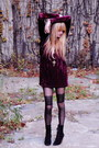Forever-21-dress-deena-ozzy-boots