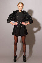 TELL ME WHERE IT HURTS JACKET- Feather Cape Trench