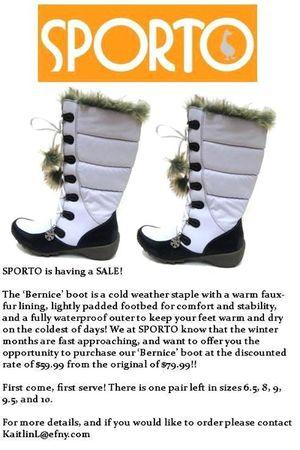 silver sporto boots