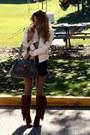 Dark-brown-michael-kors-boots-dark-gray-forever-21-bag-cream-joujou-jacket-