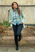 APreciouZ necklace - All Shoes boots - H&M jeans - Zara cardigan