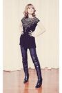 Rag-n-bone-jeans-black-forever-21-shirt-black-browns-boots