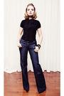 Black-dynamite-blouse-bootlegger-jeans-black-steve-madden-shoes-green-joe-