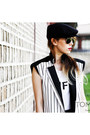 White-striped-kiok-vest-black-security-jeffrey-campbell-boots