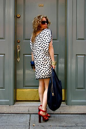 Givenchy purse - lanvin shoes - Marc Jacobs dress - bangles lanvin bracelet