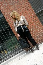 Givenchy top - Marc Jacobs pants - Nicholas Kirkwood shoes - Alexander McQueen -