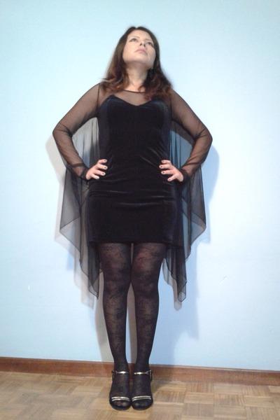 Hu0026M Trend Dresses Flowers Primark Tights Local Store Sandals | u0026quot;Black dress!u0026quot; by KarinaDonayre ...