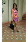 Jorge-dress-pierre-cardin-bag-madison-heels-sass-diva-earrings