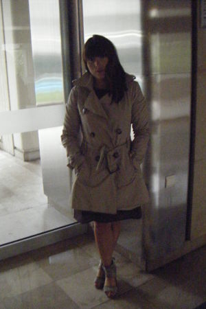 Mango dress - united colors of benetton coat - Bata shoes