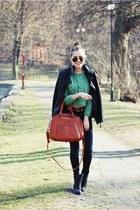 bronze Pepe Jeans bag - black Wrangler boots - black Stradivarius jacket