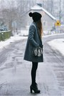 Black-boots-heather-gray-h-m-coat-black-diy-hat