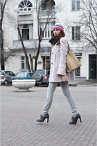 CorsoComo boots - ConceptK coat - Gap jeans - Guess sweater