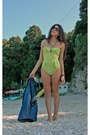 Lime-green-h-m-swimwear