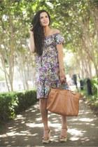 similar Forever 21 bag - Loft dress - gift neiman marcus necklace