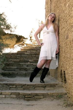 boots - polyester Speeklers dress