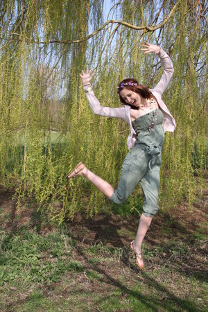 delicate H&M cardigan - Miss Selfridge bodysuit