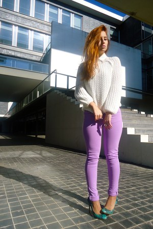 light purple AX Paris pants