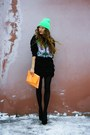 Aquamarine-unknown-hat-black-diy-bag-black-unknown-brand-heels