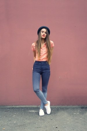 heather gray ombre jusy female jeans