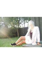 Zara blazer - Topshop shoes